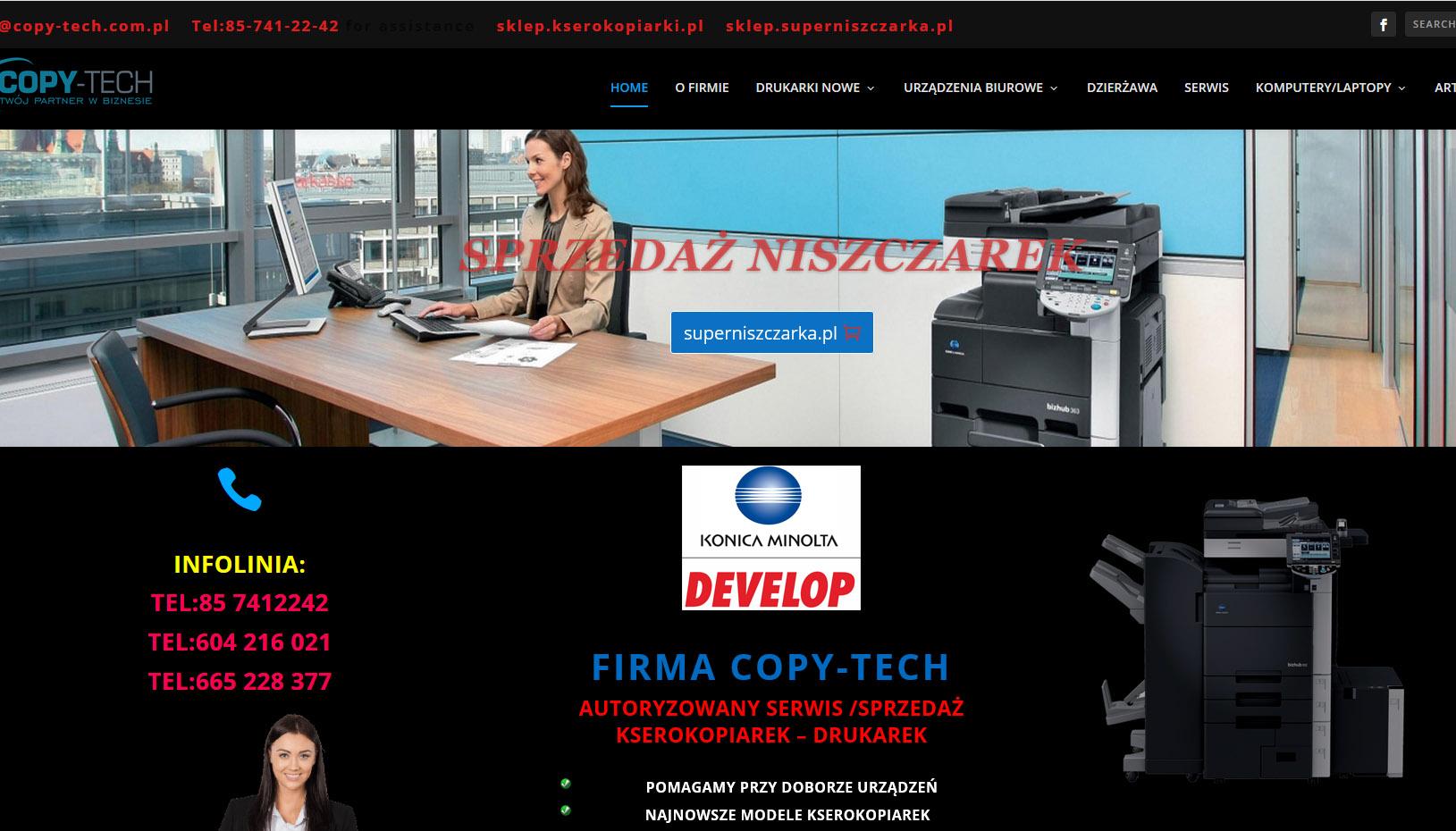 copytech - Nasze realizacje