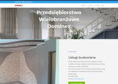 dominex.org  400x284 - Galeria stron www wordpress