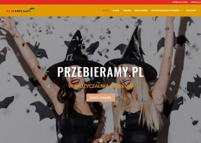przebieramypl 400x284 - Galeria stron www wordpress