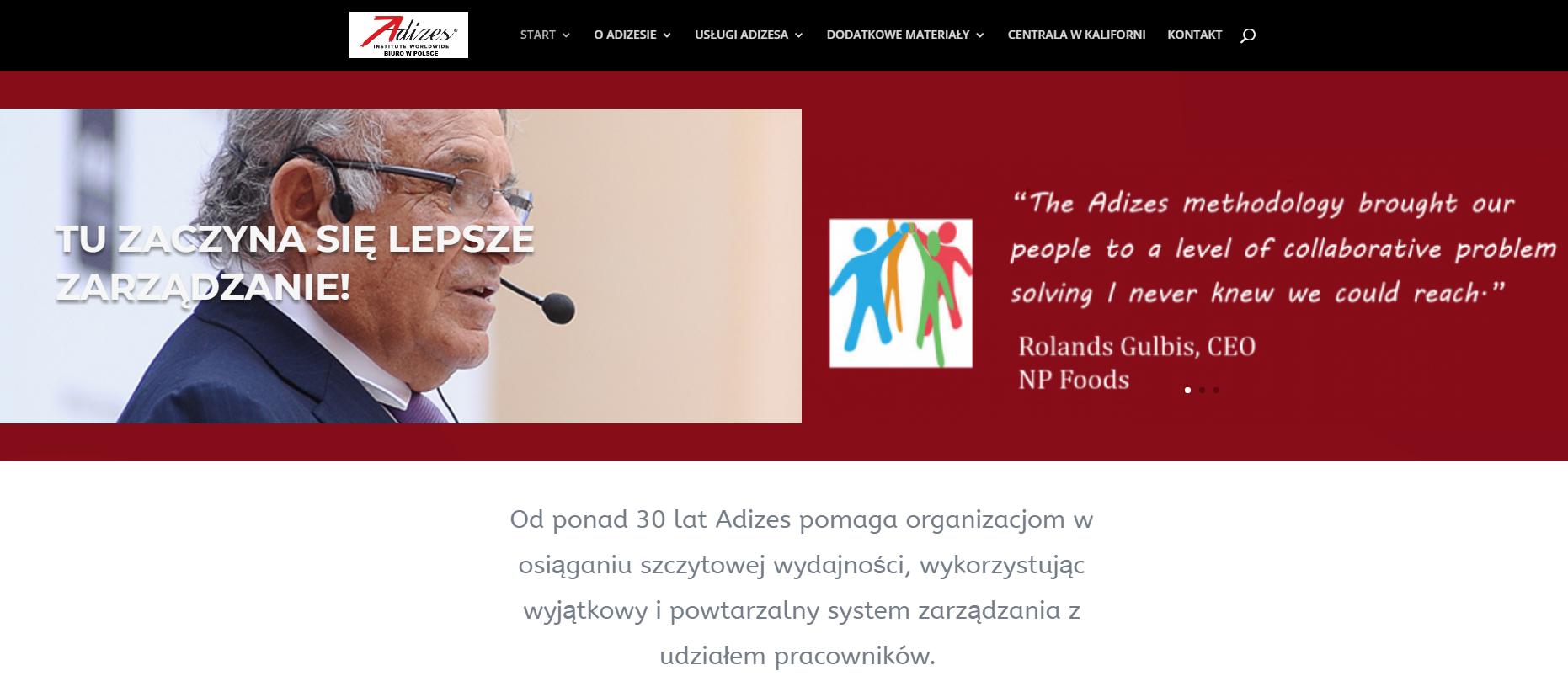 adizesinstitute - Nasze realizacje