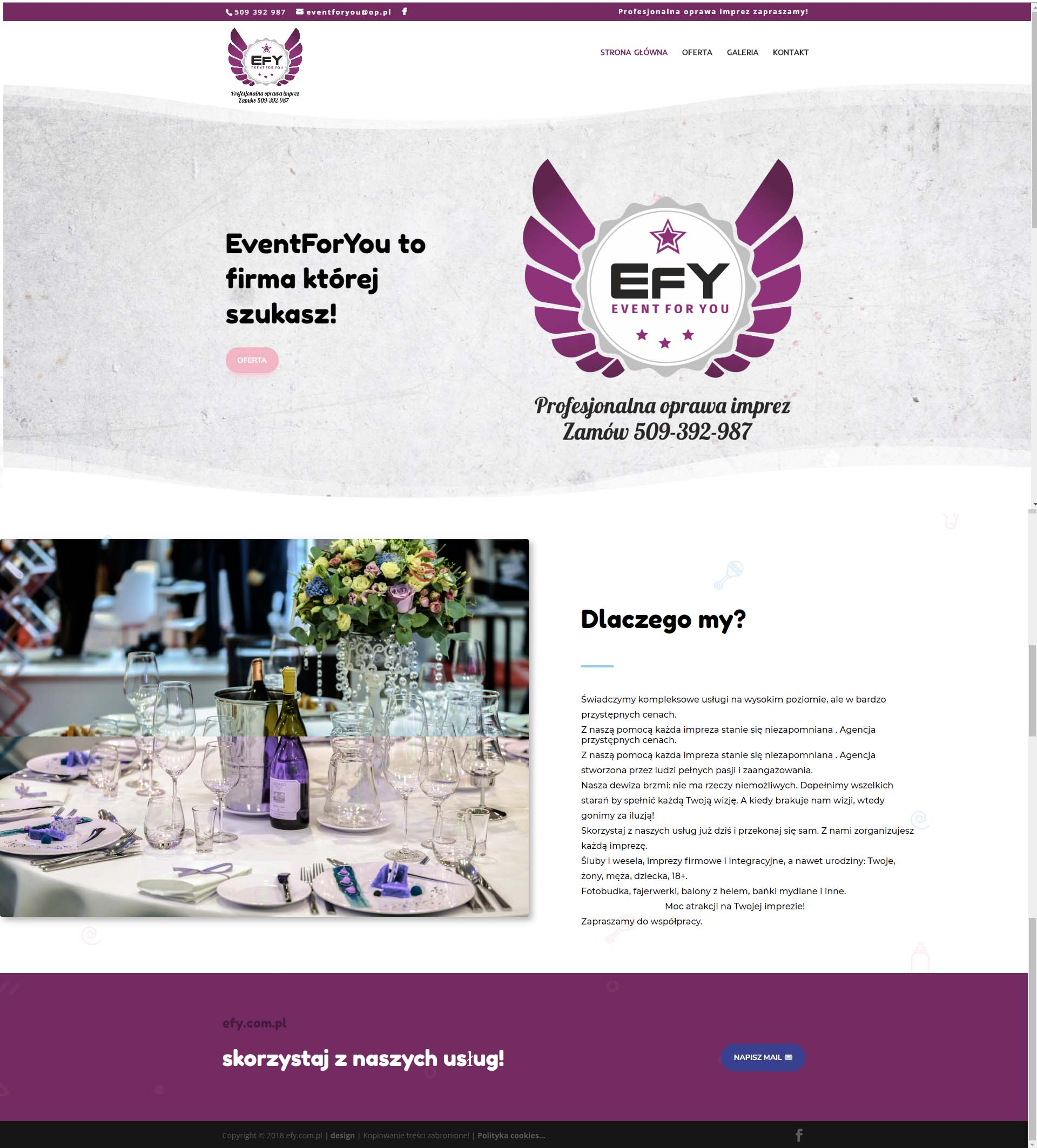 efy - Nasze realizacje