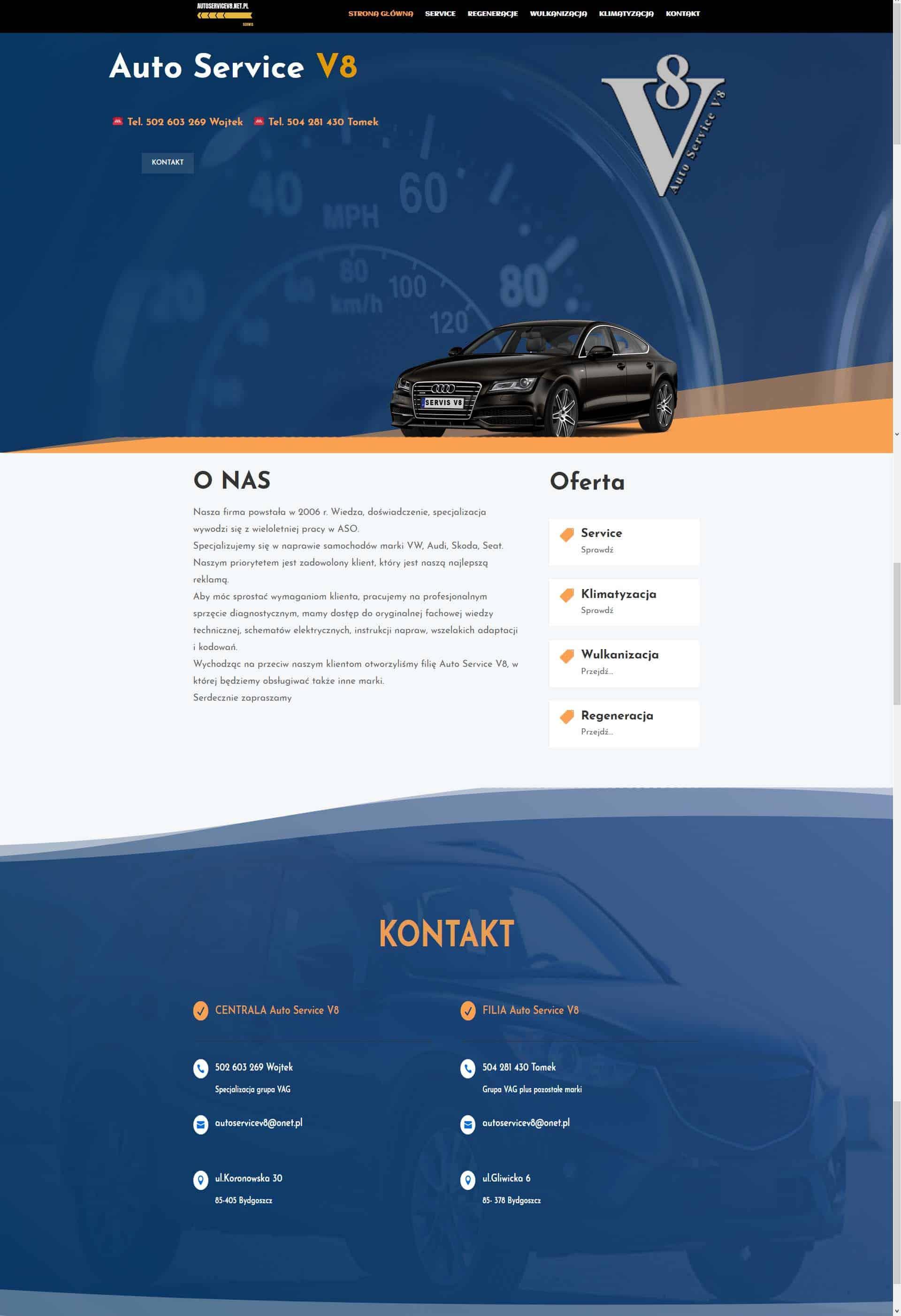 servicev8net - Nasze realizacje
